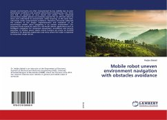 Mobile robot uneven environment navigation with obstacles avoidance