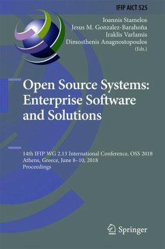 Open Source Systems: Enterprise Software and So...