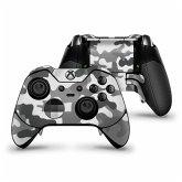 XBOX Elite Controller Skin Stciker Camouflage grau