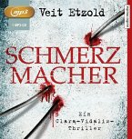 Schmerzmacher / Clara Vidalis Bd.6 (1 MP3-CD)