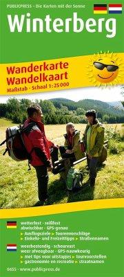 PUBLICPRESS Wanderkarte Winterberg
