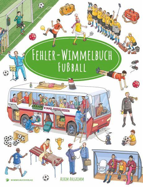Fehler-Wimmelbuch-Fußball - Ahlgrimm, Achim