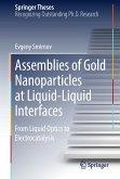 Assemblies of Gold Nanoparticles at Liquid-Liquid Interfaces (eBook, PDF)