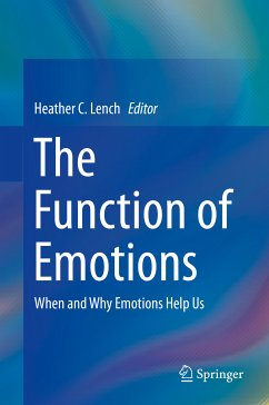 The Function of Emotions (eBook, PDF)
