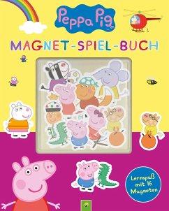 Peppa Pig Magnet-Spiel-Buch - Teller, Laura