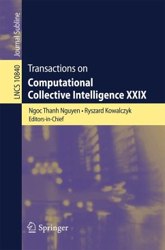 Transactions on Computational Collective Intelligence XXIX (eBook, PDF)