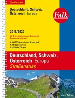 Falk Straßenatlas Deutschland, Schweiz, Österre...