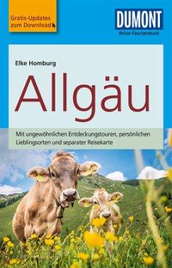 DuMont Reise-Taschenbuch Reiseführer Allgäu - Homburg, Elke