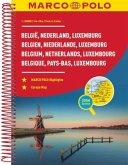 MARCO POLO Reiseatlas Benelux, Belgien, Niederlande, Luxemburg / Benelux - Belgie, Nederland, Luxemburg / Benelux - Belg