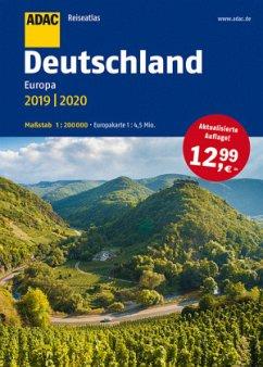 ADAC Reiseatlas Deutschland, Europa 2019/2020 1...