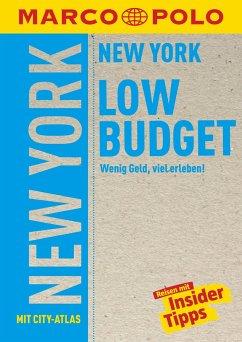 MARCO POLO Reiseführer Low Budget New York - Steinrueck, Alrun