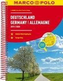 MARCO POLO Reiseatlas Deutschland / Germany / Allemagne 2019/2020 1:300 000, Europa 1:4 500 000