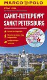 MARCO POLO Citymap Cityplan Sankt Petersburg 1:12000