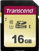Transcend SDHC 500S 16GB Class 10 UHS-I U1 V30