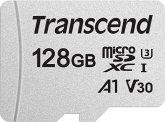 Transcend microSDXC 300S 128GB Class 10 UHS-I U3 V30 A1