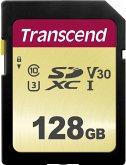 Transcend SDXC 500S 128GB Class 10 UHS-I U3 V30