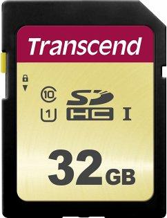Transcend SDHC 500S 32GB Class 10 UHS-I U1 V30