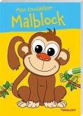 Mein Knuddeltier-Malblock (Affe). Ab 4 Jahren