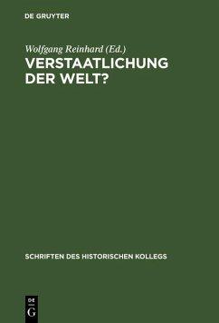 Verstaatlichung der Welt? (eBook, PDF)