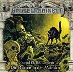Die Ratten in den Wänden / Gruselkabinett Bd.138 (1 Audio-CD)