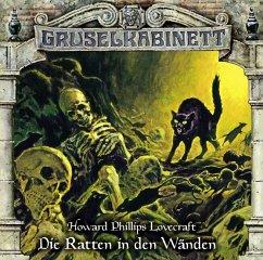 Die Ratten in den Wänden / Gruselkabinett Bd.138 (1 Audio-CD) - Lovecraft, H. P.