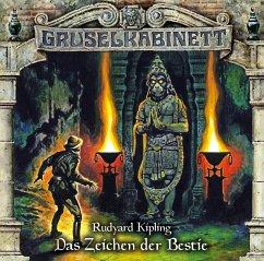 Das Zeichen der Bestie / Gruselkabinett Bd.142 (1 Audio-CD) - Kipling, Rudyard