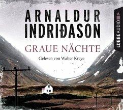 Graue Nächte / Flovent & Thorson Bd.2 (4 Audio-CDs) - Indriðason, Arnaldur