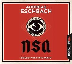 NSA - Nationales Sicherheits-Amt, 10 Audio-CDs - Eschbach, Andreas