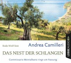 Das Nest der Schlangen / Commissario Montalbano Bd.21 (4 Audio-CDs) - Camilleri, Andrea