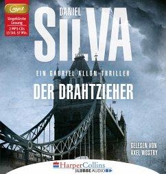 Der Drahtzieher / Gabriel Allon Bd.17 (2 MP3-CDs) - Silva, Daniel