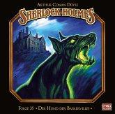 Sherlock Holmes - Der Hund der Baskervilles, 2 Audio-CDs