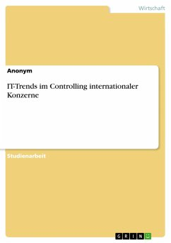IT-Trends im Controlling internationaler Konzerne