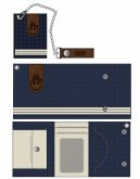 Star Wars Geldbörse (Tri-fold) Han Solo