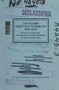 Das kleine Sabotage-Handbuch von 1944 - United States Office of Strategic