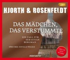 Das Mädchen, das verstummte / Sebastian Bergman Bd.4 (1 MP3-CD) - Hjorth, Michael; Rosenfeldt, Hans
