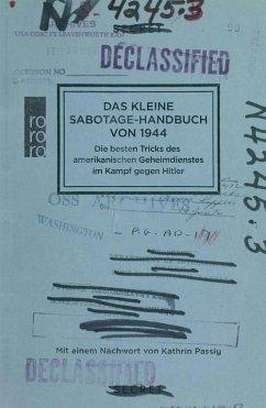 Das kleine Sabotage-Handbuch von 1944 (eBook, ePUB)
