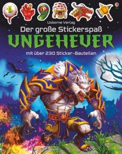Der große Stickerspaß: Ungeheuer - Tudhope, Simon