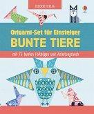 Origami-Set für Einsteiger: Bunte Tiere