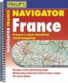 Philip's Navigator Road Atlas France