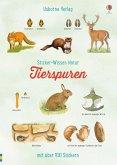 Sticker-Wissen Natur: Tierspuren