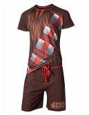 Star Wars Schlafanzug -L- Chewbacca, braun