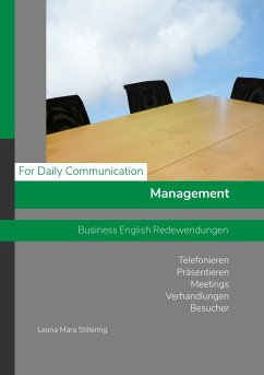 For Daily Communication - Management - Business English Redewendungen