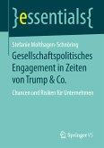 Gesellschaftspolitisches Engagement in Zeiten von Trump & Co. (eBook, PDF)