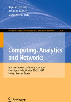 Computing, Analytics and Networks