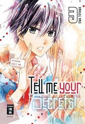 Buch-Reihe Tell me your Secrets!