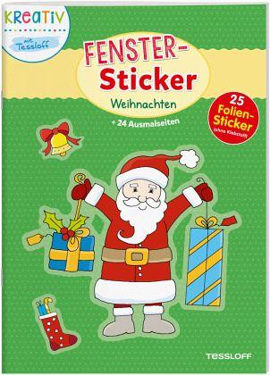 Ist Weihnachten Am 24 Oder 25.Fenster Sticker Weihnachten