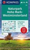 KOMPASS Wanderkarte Naturpark Hohe Mark-Westmünsterland