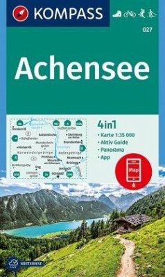 KOMPASS Wanderkarte Achensee