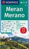 KOMPASS Wanderkarte Meran, Merano