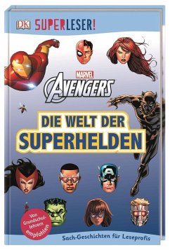 SUPERLESER! MARVEL Avengers Die Welt der Superhelden / Superleser 3. Lesestufe Bd.17